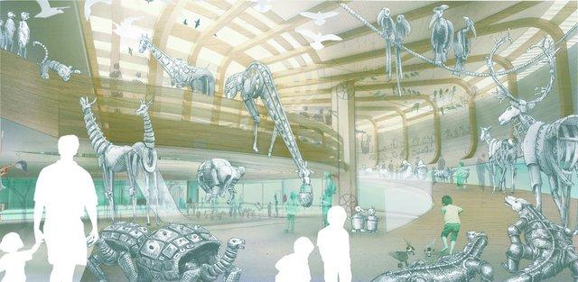 1. Preis_Innenraumperspektive © Olson Kundig Architecture and Exhibit Design, Seattle-001