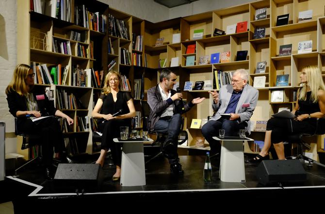 ANCB_ 08.07.2016, Museum Revisited: Dr. Claudia Perren, Dr. Dorothea von Hantelmann, Nicolaus Schaffhausen, Prof. Dieter Bogner, Miriam Mlecek