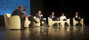 Podium Panel !: Kjetil Thorsen, Dmitry Ozerkov, Sergey Kuznetsov, Lucas Feireiss (Moderation), Elisabeth Diller, Anton Belov